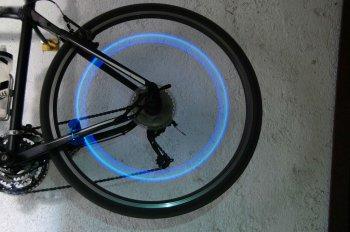 Светодиоды на колеса велосипеда своими руками