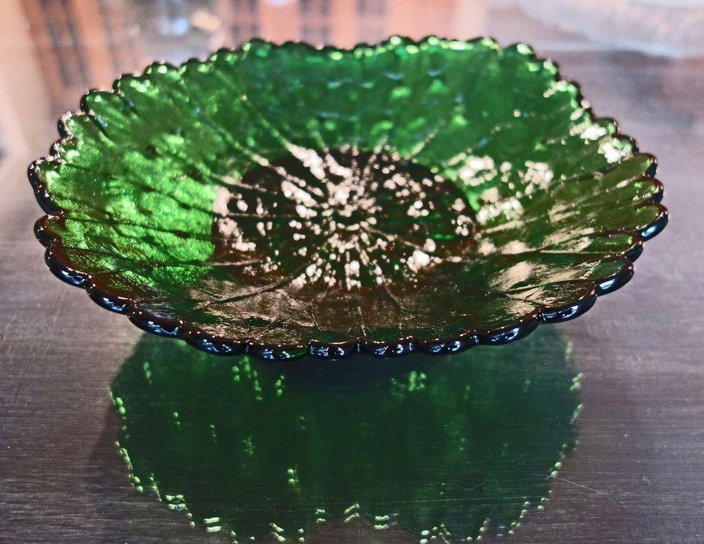 Стеклянные тарелки с узорами своими руками