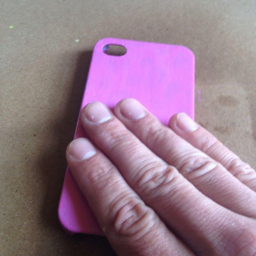 Теплочувствительный чехол на телефон своими руками