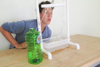 Как сделать большие мыльные пузыри в домашних условиях