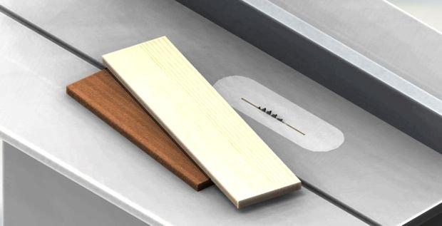 Как срезать доску под углом циркулярной пилой