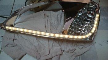 Как установить светодиоды в фары своими руками