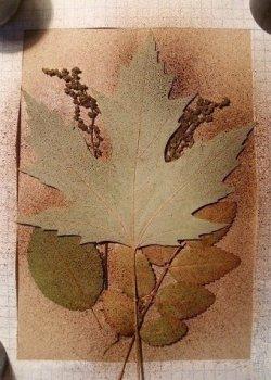 Осеннее панно своими руками