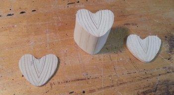 Шкатулка в виде сердца своими руками