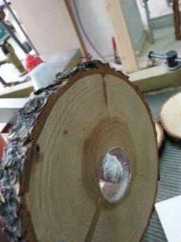 Светильник из дерева своими руками