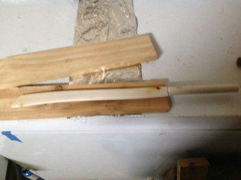 Японский меч из ПВХ трубы своими руками