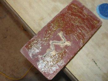Подставка из кирпича для паяльника своими руками
