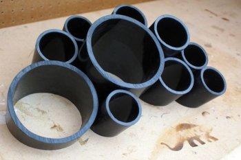 Подставка для канцтоваров из труб ПВХ