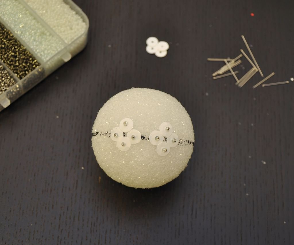 Как сделать елочные шары своими руками