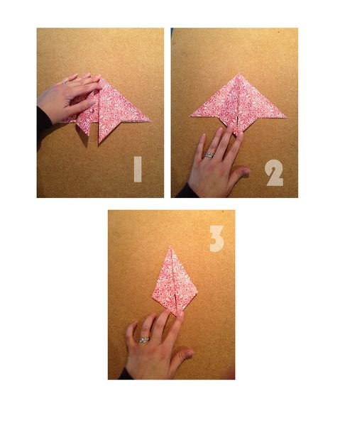 Елка из бумаги своими руками