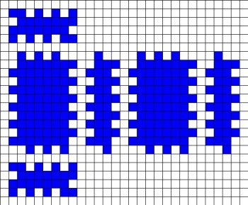 Криппер Minecraft из бисера своими руками