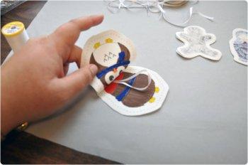 Мягкие игрушки на елку своими руками