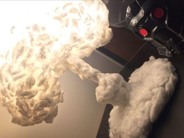 Лампа облако взрыва своими руками