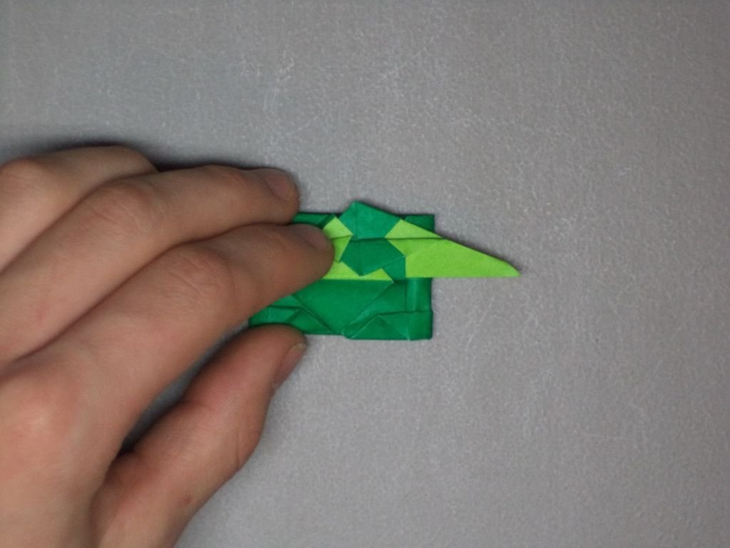 Как сделать оригами танк своими руками?