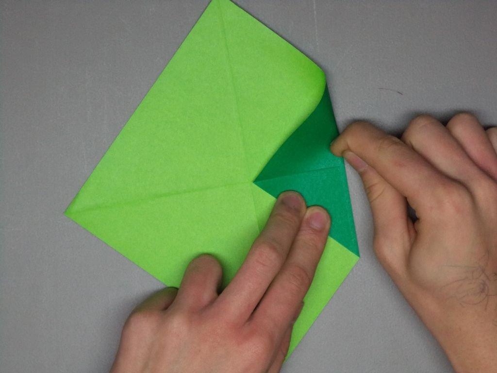 Как сделать оригами танк