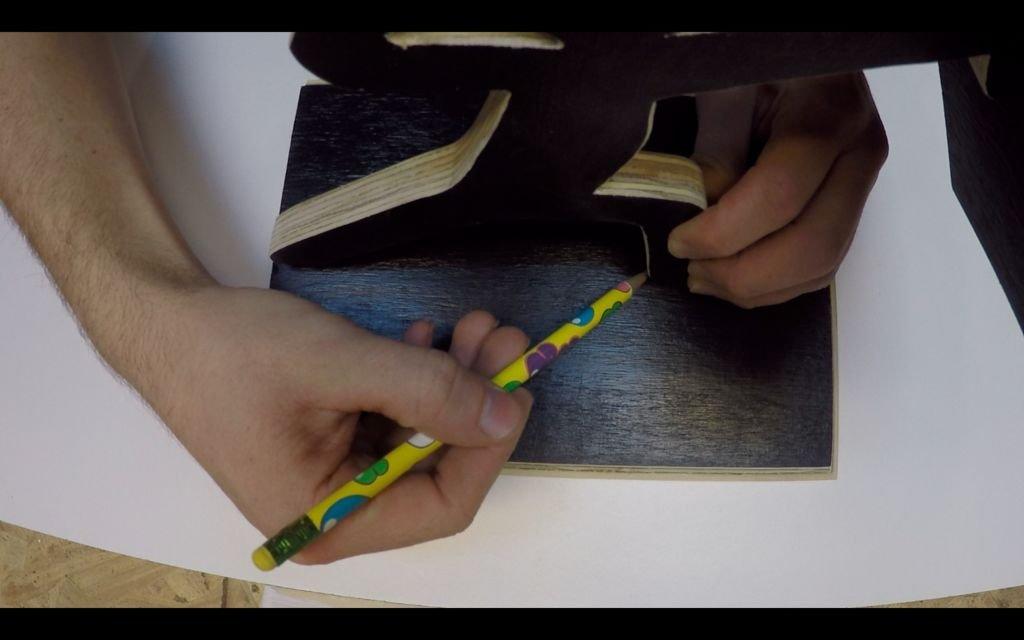 Подставка для ножей своими руками