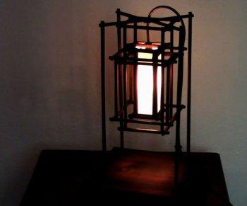 Лампа-клетка своими руками
