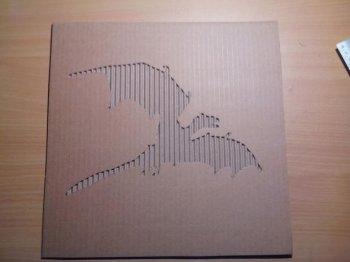 Панно из упаковочного картона своими руками