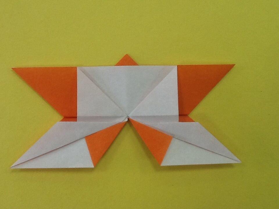 Бабочка-оригами своими руками