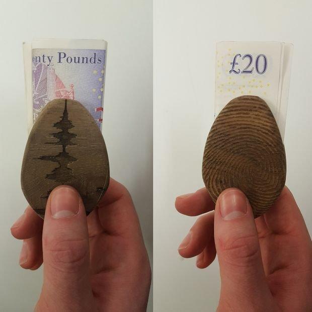 Зажим для денег своими руками