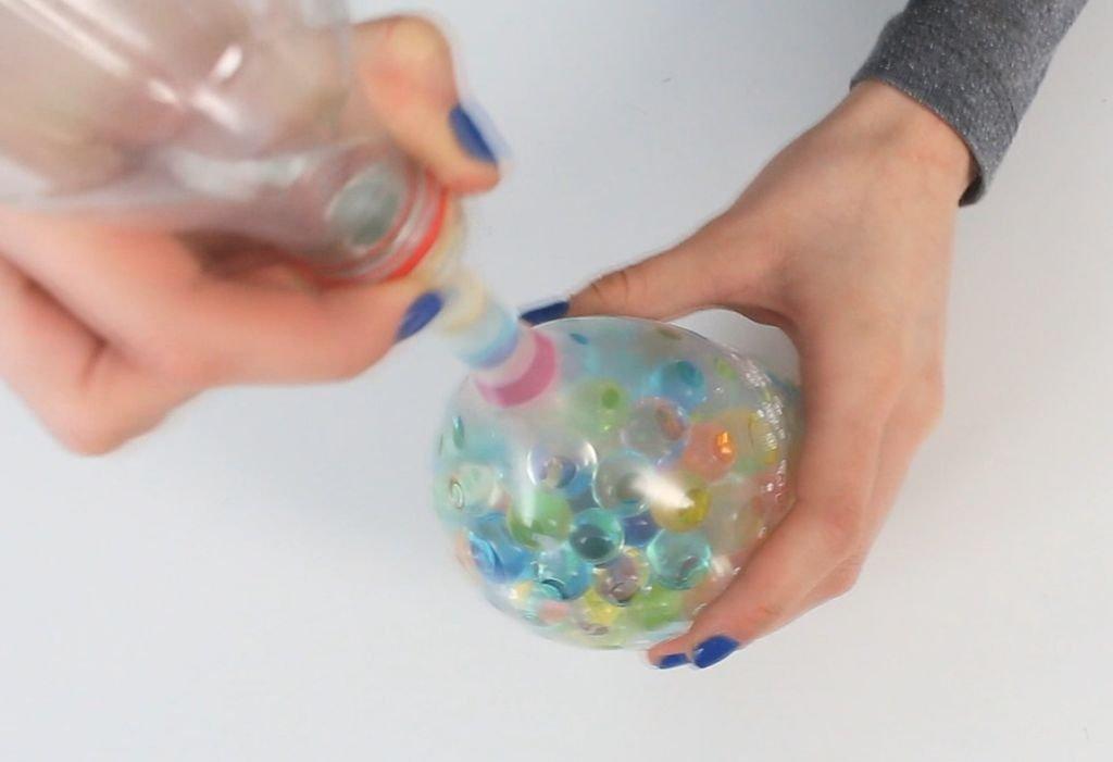 Антистрессовые мячики своими руками