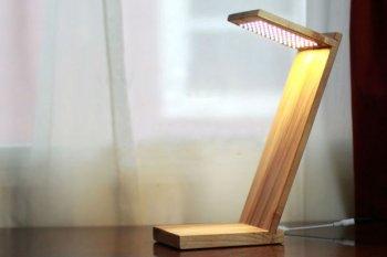 Настольная светодиодная лампа своими руками