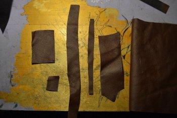 Кожаный органайзер для инструментов своими руками