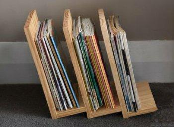 Подставка для книг и журналов своими руками