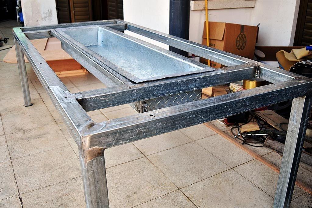 Барбекю-стол своими руками