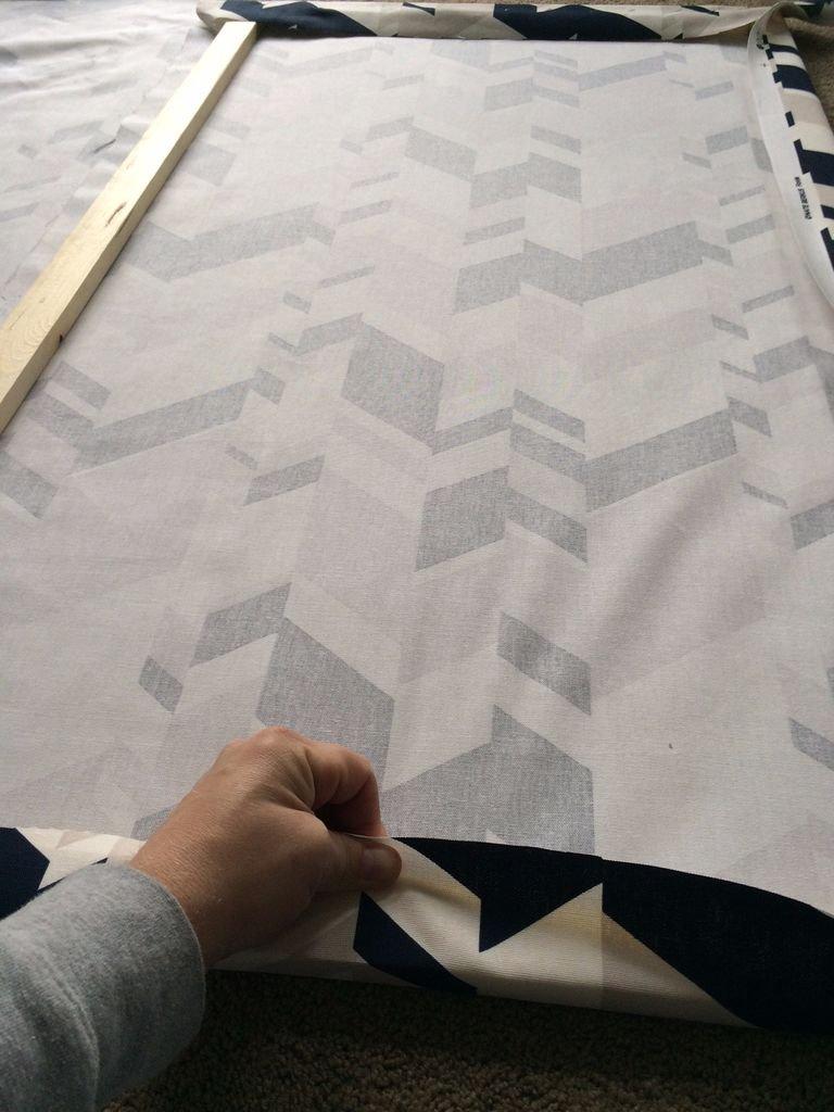 Панно из ткани своими руками