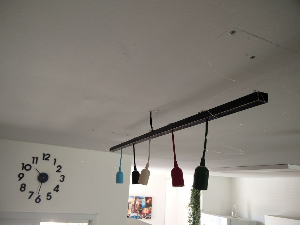 Лампа с коробом своими руками