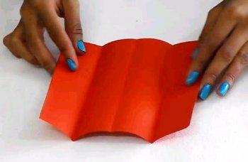 Кровать для кукол в технике оригами