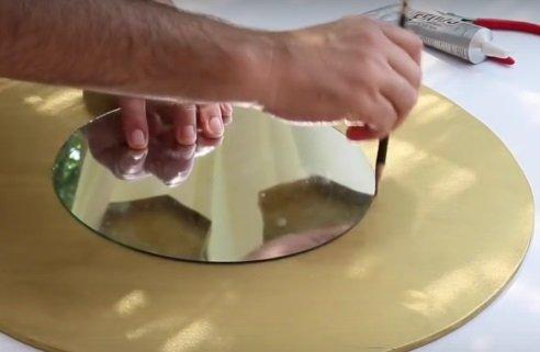 Декор зеркала в бохо стиле своими руками