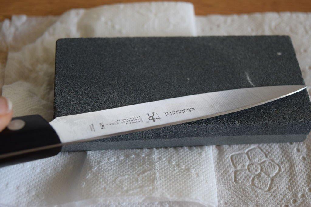 Как правильно заточить нож своими руками