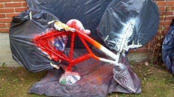 Как покрасить велосипед своими руками