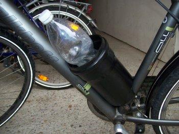Держатель бутылки для велосипеда своими руками