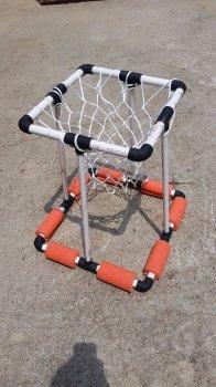 Баскетбольная корзина для бассейна своими руками