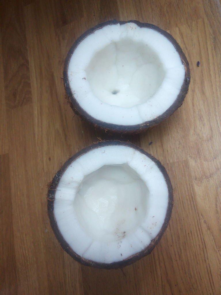 Ваза из кокоса своими руками