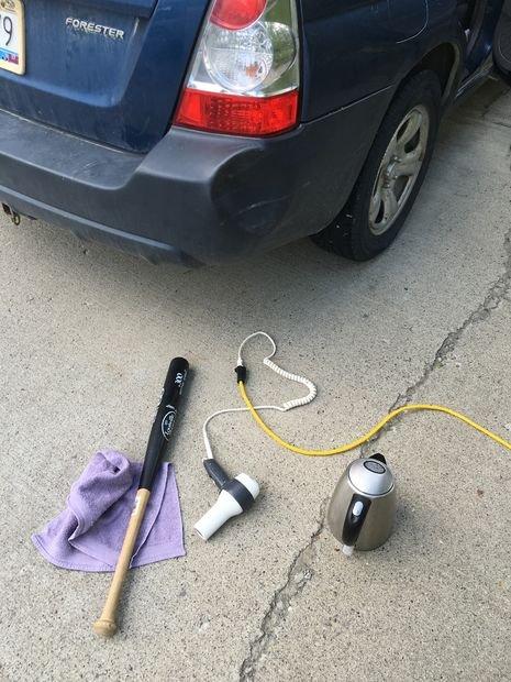 Как самостоятельно вправить пластиковый бампер авто