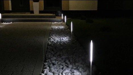 Светодиодная подсветка для сада своими руками