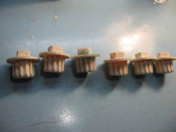 Самостоятельное изготовление пластиковой шестерни.
