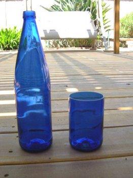 Стаканы из винных бутылок своими руками