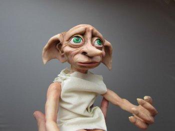 Кукла Добби из полимерной глины
