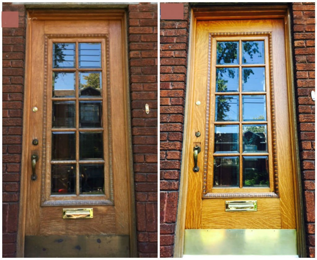 Входная деревянная дверь своими руками фото 148