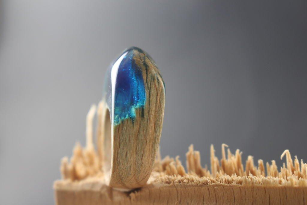 Кольцо из натурального дерева своими руками