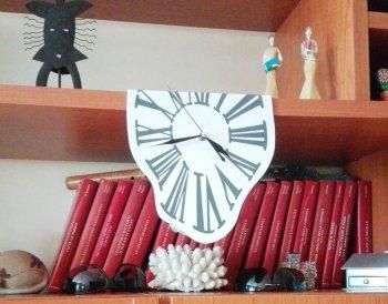 Часы Дали своими руками