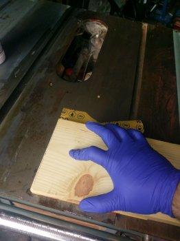 Удаление въевшейся ржавчины своими руками