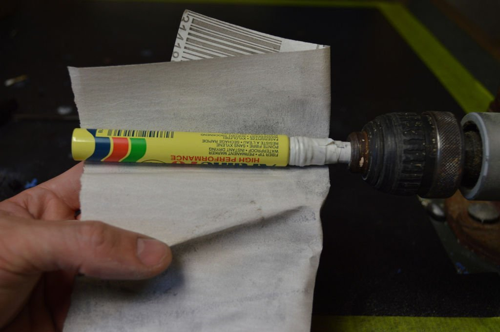 Зажигалка с футляром от маркера своими руками