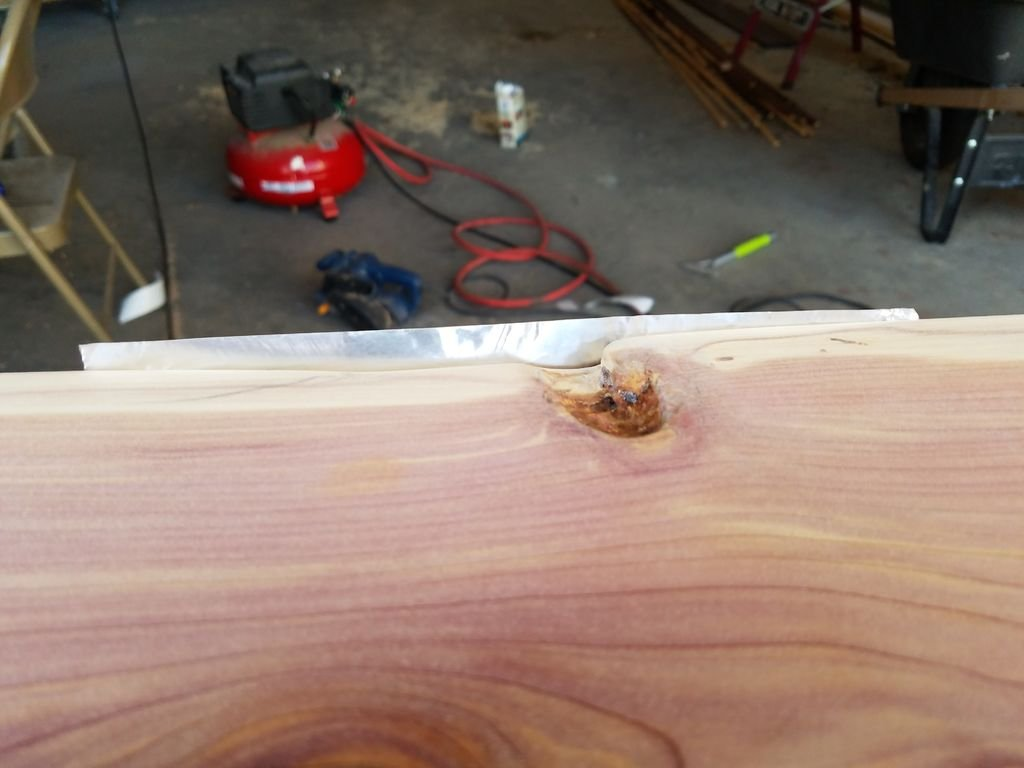 Столешница из дерева и бетона своими руками
