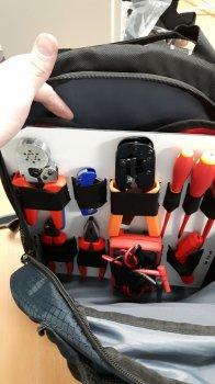 Органайзер для рюкзака своими руками